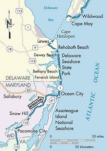 Delaware Beaches Ocean City Maryland Beaches Including ...