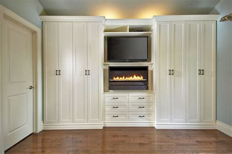 Wardrobe Units For Bedroom by Antique White Wall Unit Contemporary Bedroom Toronto With