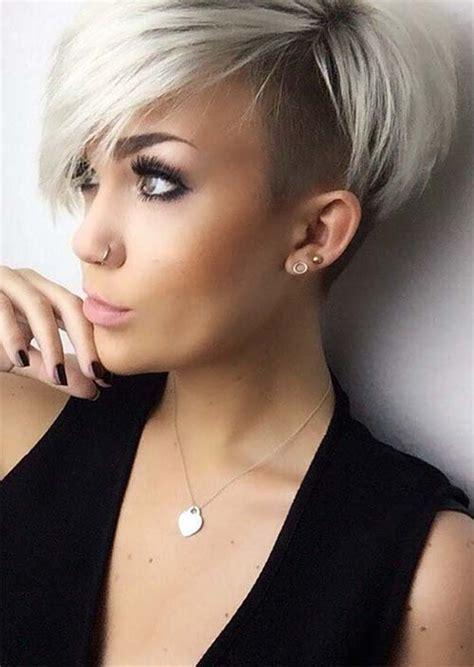 edgy  rad short undercut hairstyles  women glowsly