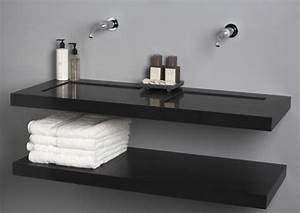 Quartz sinks from giquadro quadro flat line for Flat bathroom sinks