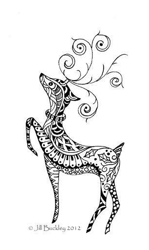 My Doodles - jill buckley - Picasa Webalbumok | Christmas