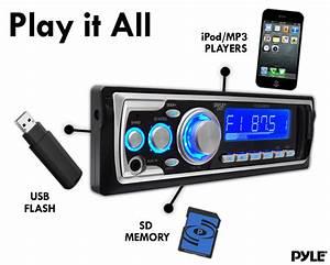 Amazon Com  Pyle Plr24mpm Am  Fm Receiver Mp3 Playback With Usb  Sd  Aux
