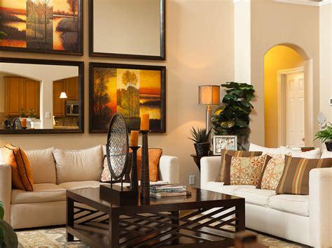 Art arrangement ideas living room contemporary with beige