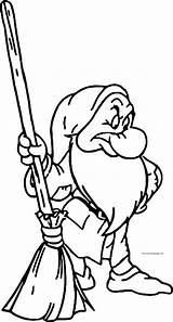 Coloring Grumpy Snow Disney Pages Wecoloringpage Face sketch template