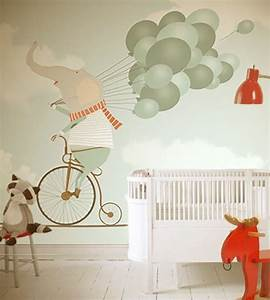 Tapete Babyzimmer Junge : tapeten kinderzimmer passende farben und motive ausw hlen kunst kinderzimmer tapete kinder ~ Watch28wear.com Haus und Dekorationen