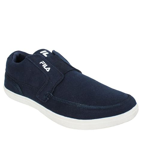 Fila Navy Lifestyle Shoes available at SnapDeal for Rs.992