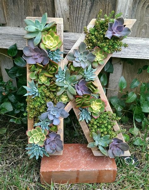 succulent letter 17 best images about wooden succulent letter monogram succulent letters succulent initial on