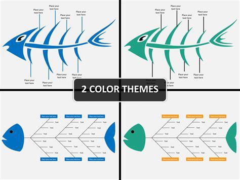 fishbone diagram powerpoint template sketchbubble