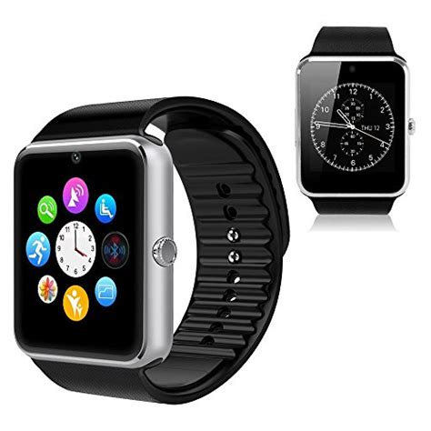 smart watches compatible with iphone yemon smart watches bluetooth with compatible with