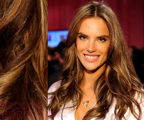 hair highlights  olive skin tones