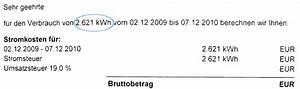 Stromverbrauch Berechnen Kwh : der einfache strompreisvergleich stromanbieter ~ Themetempest.com Abrechnung