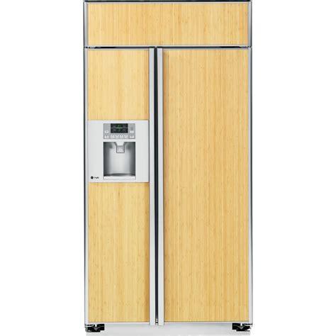 panel ready refrigerator ge profile psb42ygxsv 25 2 cu ft built in side by side refrigerator panel ready sears