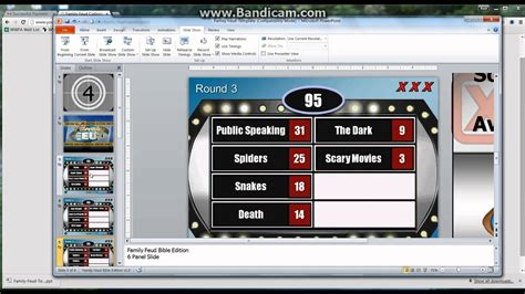 powerpoint family feud template game tutorial