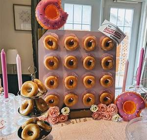 DIY Donut Bar Stand from IKEA Lack table - IKEA Hackers