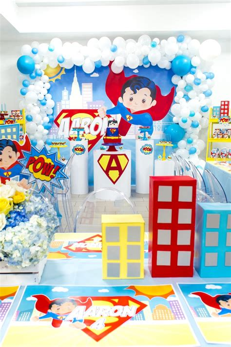 Ideas Birthday by Kara S Ideas Superman Birthday Kara S