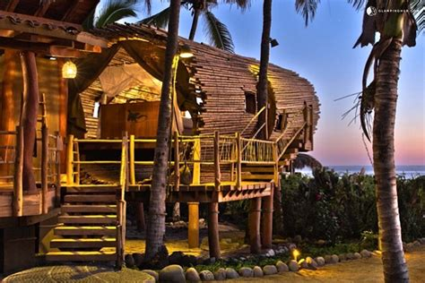 Tree House Rental In Mexico, Treehouse Rentals-white House