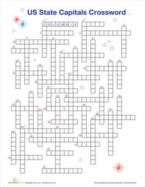 crossword puzzle 5th grade search results calendar 2015