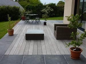 revgercom modele de terrasse exterieur en pierre idee With maison en pierre ponce 8 8 conseils pour une terrasse melant contemporain et