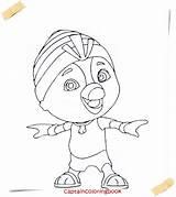 Wing Coloring Cartoon Pdf sketch template