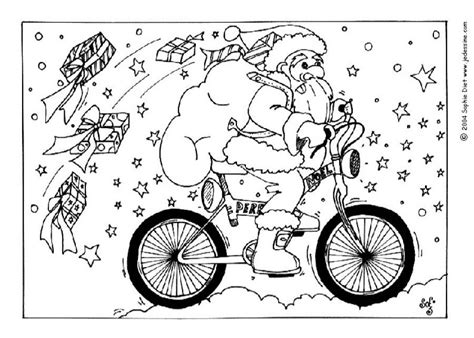 bike junkie christmas coloring contest
