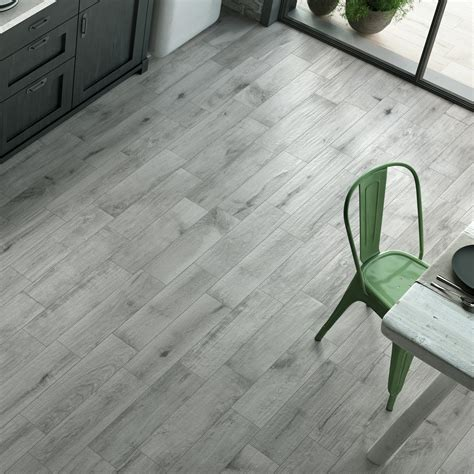 Oslo Grey   Wood Effect Tiles   Porcelain Superstore