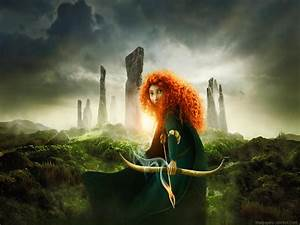 Hollywood, Wallpapers, 2012, Brave, Movie, Wallpapers