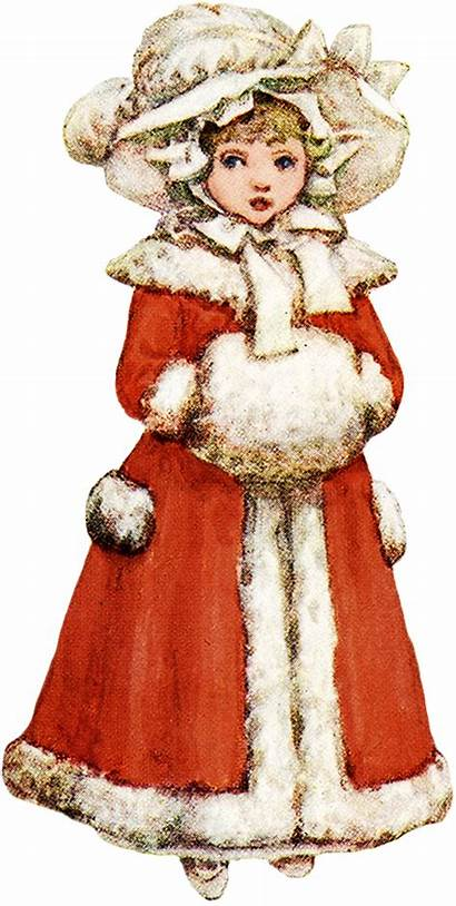 Victorian Winter Clipart Clip Charming Banner