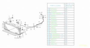 Subaru Svx Radiator Coolant Hose  Inlet   Flexible Hose