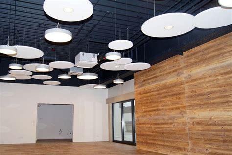 Deckensegel Mit Beleuchtung by Akustik Im B 252 Ro Absorbersysteme F 252 R Wand Und Decke