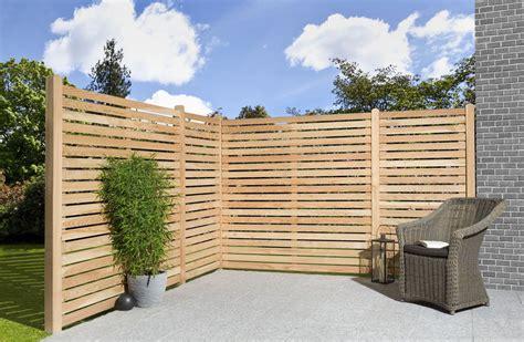 Sichtschutzzaun Terrasse Und Garten Vor Fremden Blicken Schuetzen by Sichtschutz Ms Holzfachmarkt Und Werkes Welt