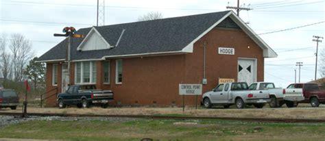 KCS office at Hodge, Louisiana. February 10, 2002