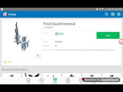 finally frost general guardianroblox youtube