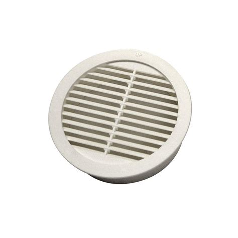 bathroom fan soffit vent home depot master flow 3 in resin circular mini wall louver soffit