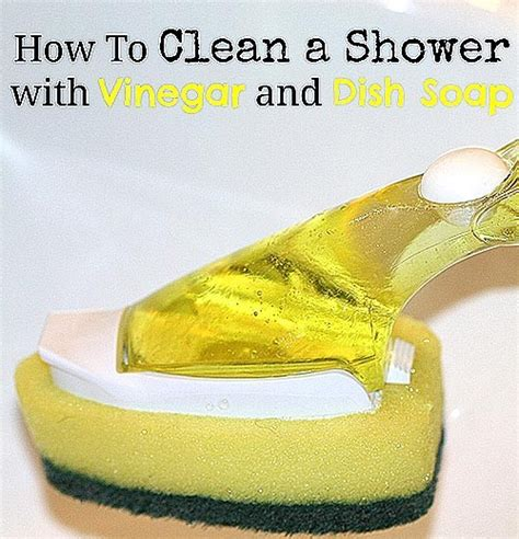 cleaning shower with vinegar easy shower cleaner with and vinegar