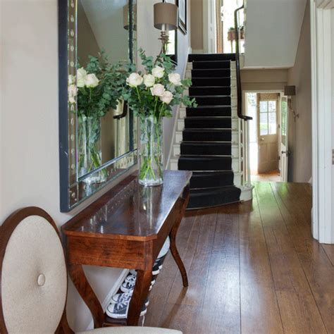 Handsome Traditional Townhome by Grand Traditional Hallway Traditional Hallway