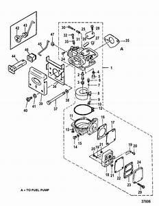 Mercury Marine 4    5 Hp Carburetor Parts