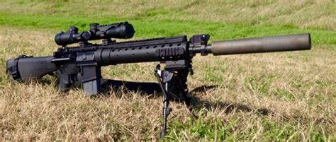Allen Engineering And The Silencer For The Mk12 -the