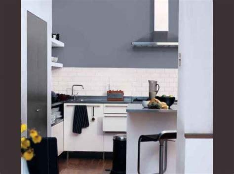 cuisine gris noir cuisine noir mur gris