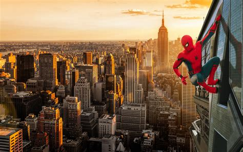 [wallpaper] Fanmanipulated Spiderman Homecoming Promo