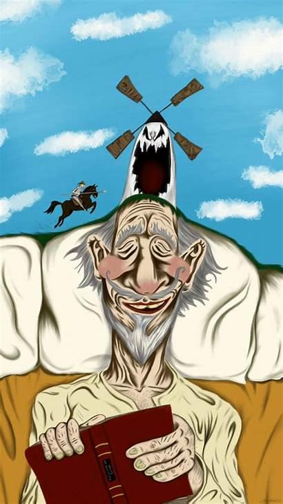 Quijote Don Mancha Quixote Gifs Animation Mirkovich