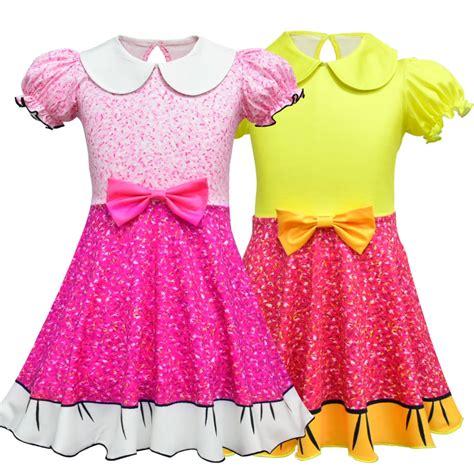 girls summer lol dress children kids lol birthday