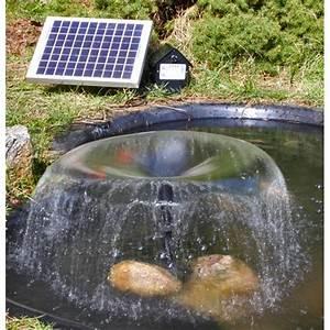 Pompe Pour Jet D Eau Fontaine : pompe fontaine solaire jet d 39 eau bassin batterie et leds ~ Premium-room.com Idées de Décoration