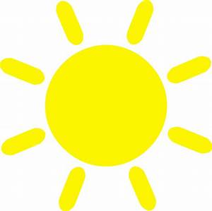 Simple Sun Clipart (70+)