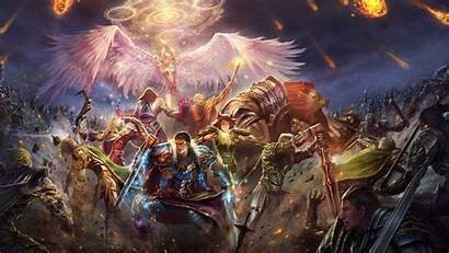 Epic Battle Fantasy Wallpapers Perfect Artwork Background