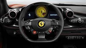 Ferrari F8 Tributo 2019 Interior 5K Wallpapers HD
