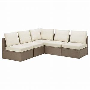 Furniture outdoor sectional sofa with white ceramic floor for Outdoor sectional sofa dimensions