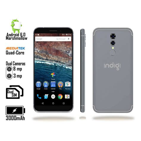 smartphone android 6 unlocked 5in 4g lte gps dual sim 4core android 6 0 smartphone at t talk ebay