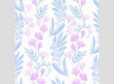 Fondos de acuarela de mano dibujado flores — Vector de