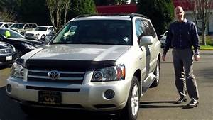 Review  Why A 2006 Toyota Highlander Hybrid Limited Under