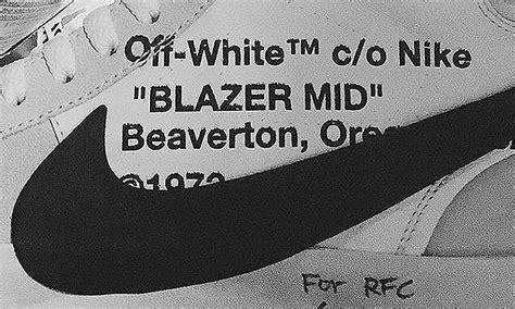 white nike   working   sneaker collab